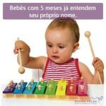 Com cinco meses de idade o beb consegue identificar muitoshellip