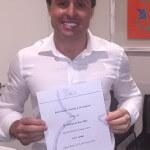 Dr. Rodrigo da Rosa Filho, participou de um curso de reprodução humana avançado na Itália, com o Grupo Genera