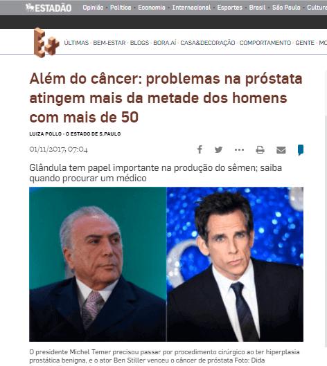 Além do câncer - problemas na próstata atingem mais da metade dos homens com mais de 50